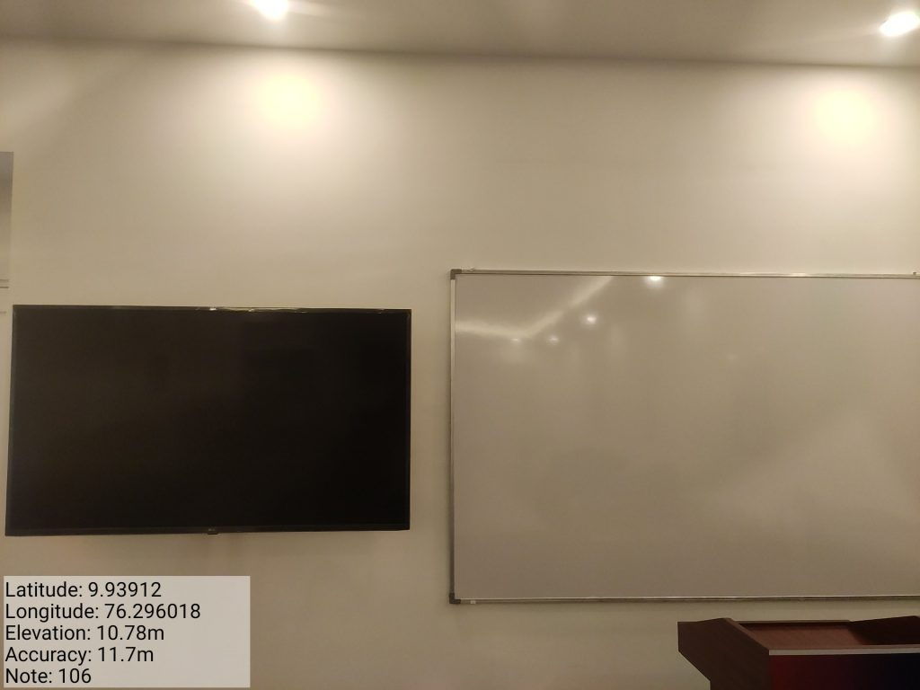 Geo-tagged Classrooms