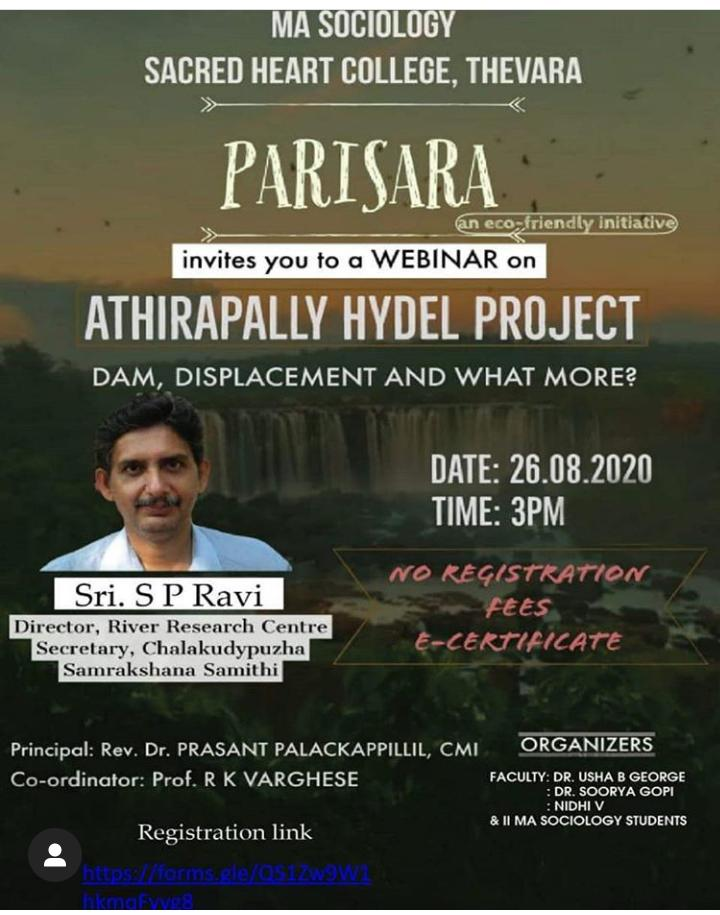 Athirappally Hydel Project – Dam, Displacement and What More?