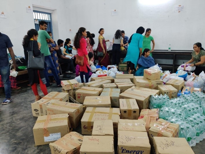 Flood Relief Collection Drive