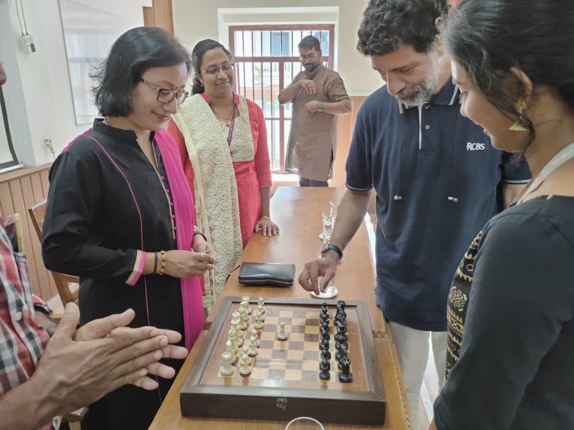 MG University Inter collegiate chess tournament 2019-2020