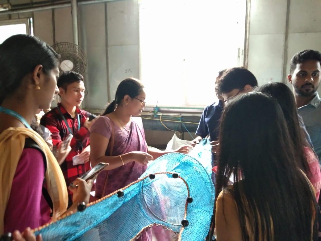 Net making factory visit