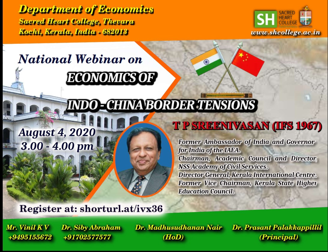 """ECONOMICS OF INDO-CHINA BORDER TENSIONS"""